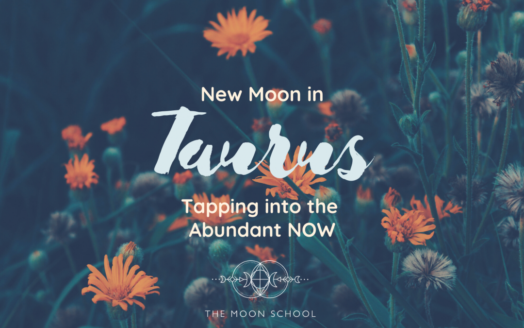 Taurus New Moon: Tapping into the Abundant NOW (May 11th, 2021)