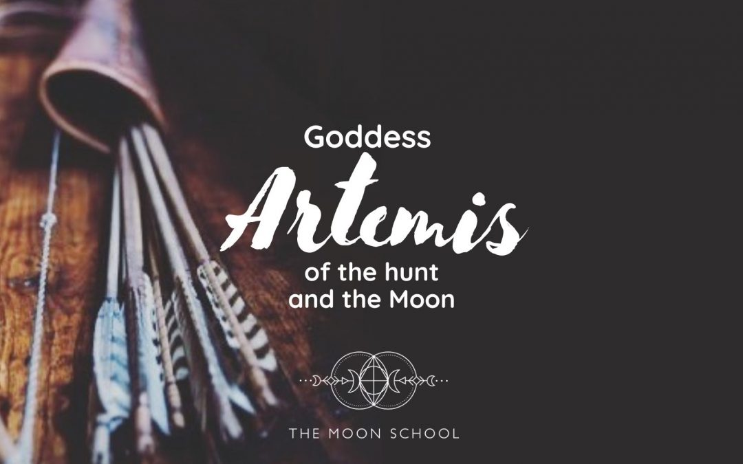 Musings on Artemis, Goddess of the Moon 🌝 and Huntress of the Forest