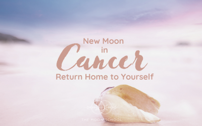 Cancer New Moon: Return Home to Yourself